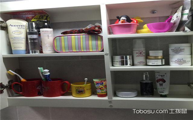 小三室装修案例之卫生间