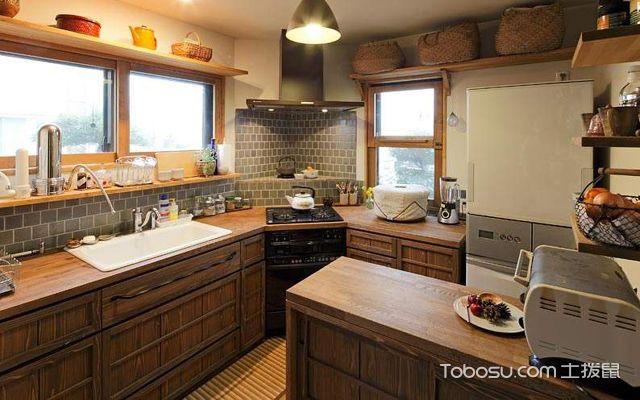 日式方法倒扣效果图,日式特点风格的v方法有哪些厨房模具设计解决装修厨房图片