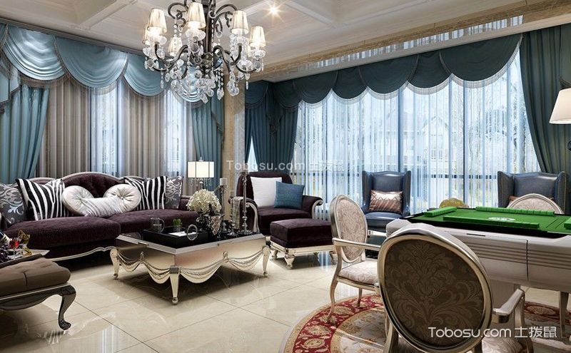 欧式客厅沙发背景墙,带给你全新生活体验