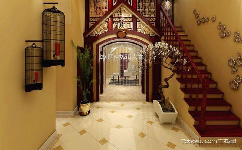 实木楼梯,缓缓移动的美