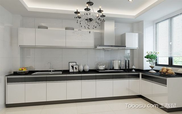最新整体厨房装修效果图大全