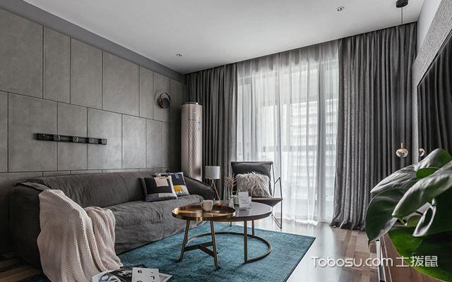 混搭风格案例—客厅