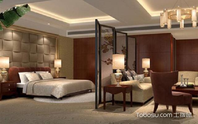 客厅卧室一体装修效果图 技巧