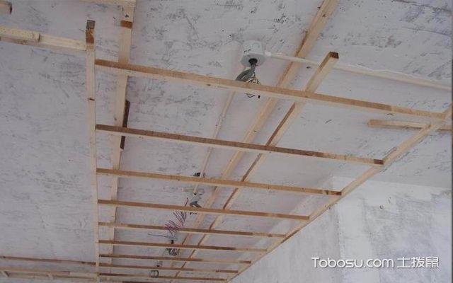 木龙骨吊顶安装步骤介绍
