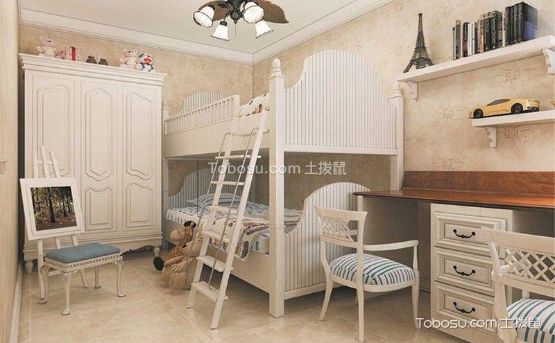 儿童卧室设计效果图,简洁大气就好看