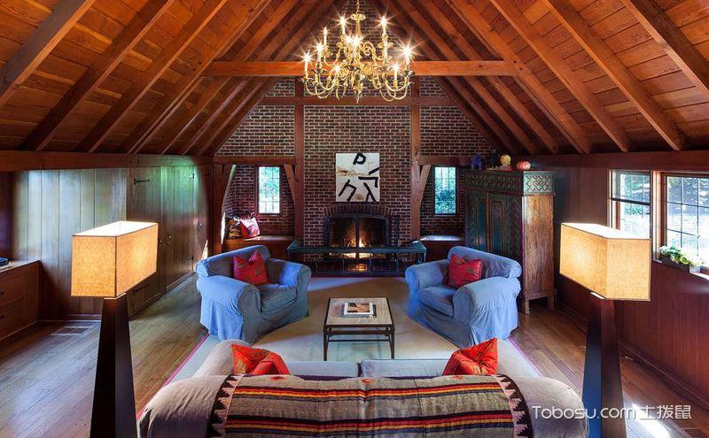 30平米阁楼装饰设计案例,宽敞之中更实用