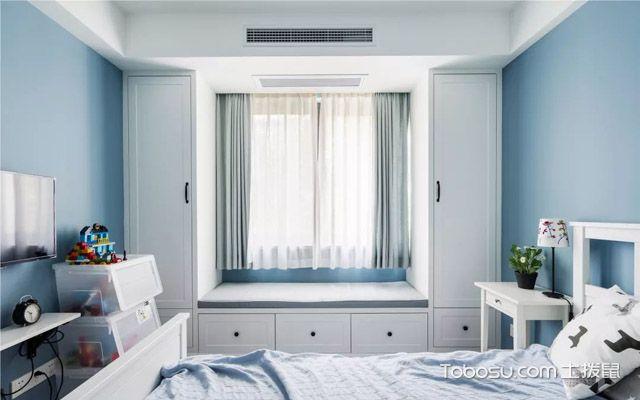 三室一厅现代美式装修案例