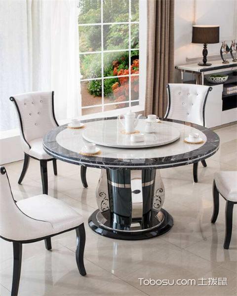 大理石餐桌有哪些优缺点之坚硬耐磨