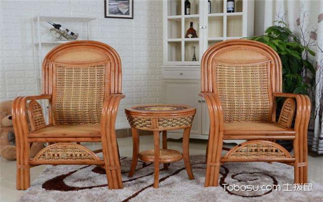 休闲藤椅如何选择之打磨翻新