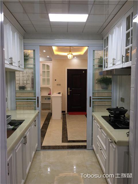 简欧风格装修图-厨房内部