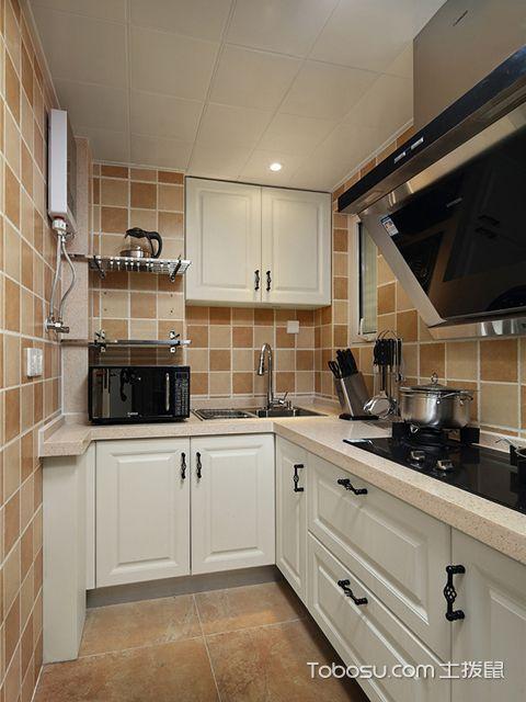 狭小厨房装修效果图,这么设计告别拥挤
