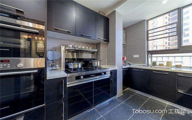 混搭风格装修案例之厨房