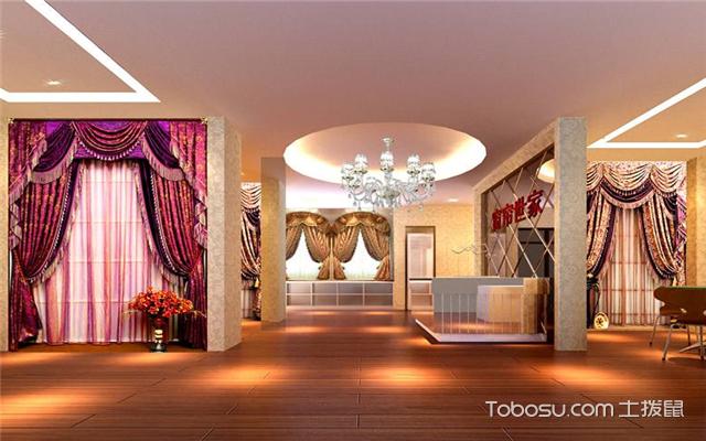 窗帘店如何装修设计