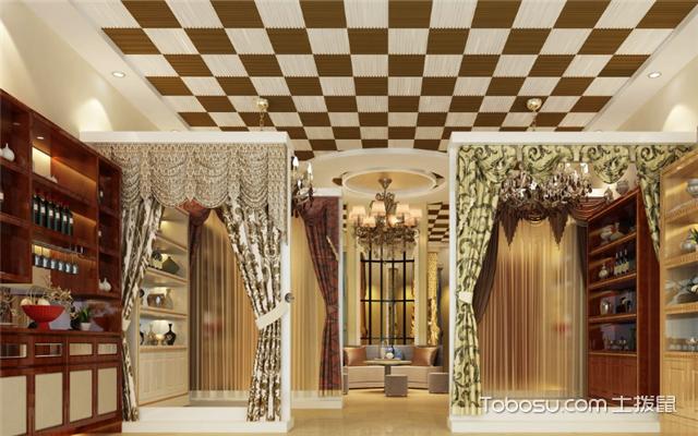 窗帘店如何装修设计之展板尺寸
