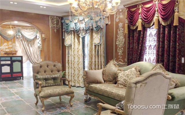窗帘店如何装修设计之风格定位