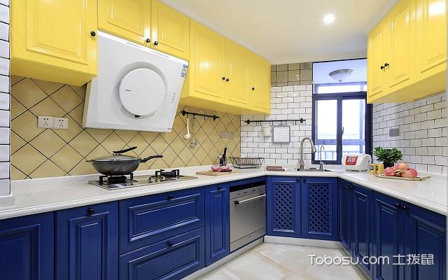 美式厨房装修效果图 案例