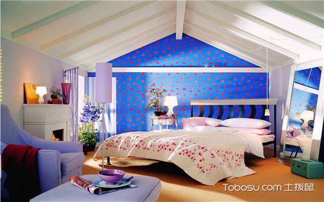 小户型温馨卧室装修效果图案例三