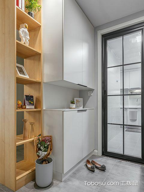 90平米两室两厅装修案例—玄关