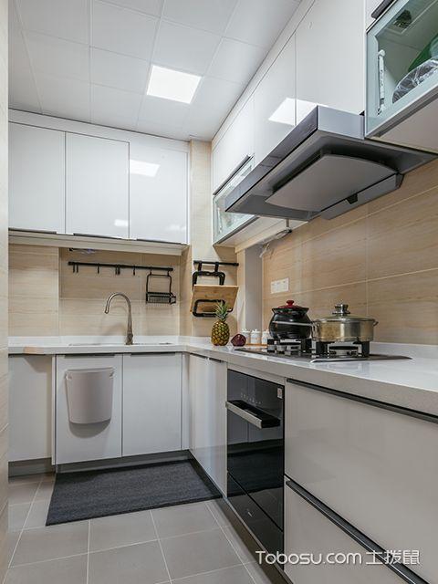 90平米两室两厅装修案例—厨房