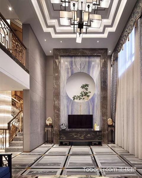 新中式别墅装修设计图片介绍