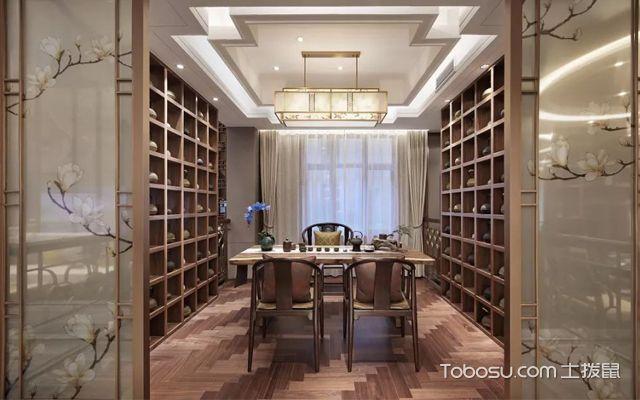 最新新中式别墅装修设计案例介绍