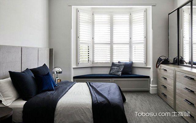 不规则的卧室飘窗设计图片