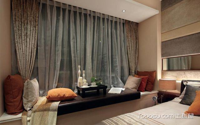 卧室飘窗装修设计图片介绍