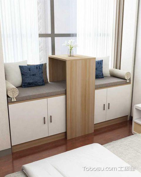 最新卧室飘窗设计图片赏析