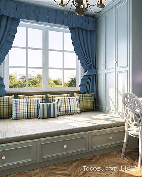 卧室飘窗设计搭配技巧