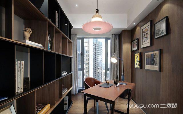 最新现代简约书房装修效果图