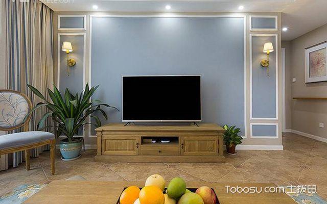 电视背景墙装饰材料介绍
