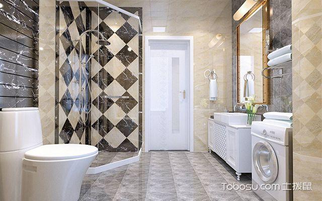 卫生间装修风水问题之卫生间瓷砖铺贴风水