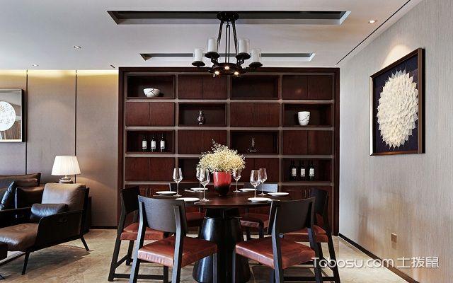 家庭餐厅酒柜图片大全,美观实用又有格调图片