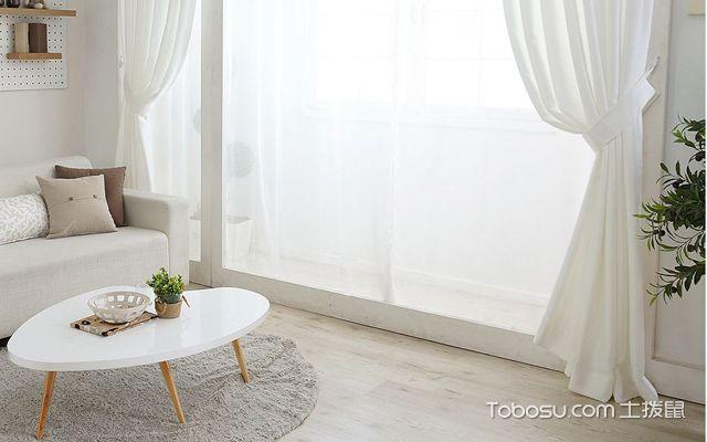 家里装修用白色窗帘好吗2