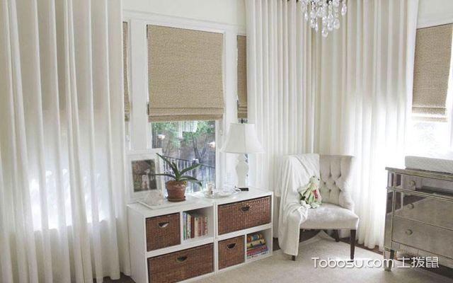 家里装修用白色窗帘好吗3