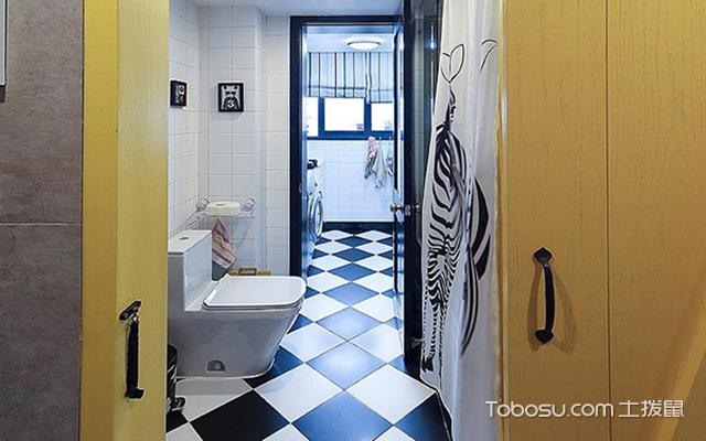 卫生间风水门帘选择事项之门帘的尺寸