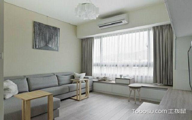 客厅飘窗垫什么材质比较好之布艺