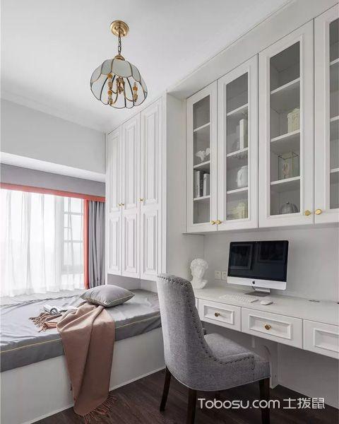 90平米房子装修案例,现代美式为您打造一个轻奢温馨家