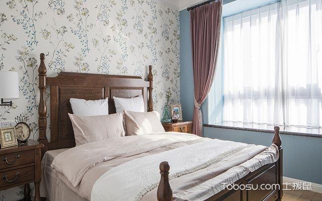 最流行美式小户型卧室颜色搭配案例