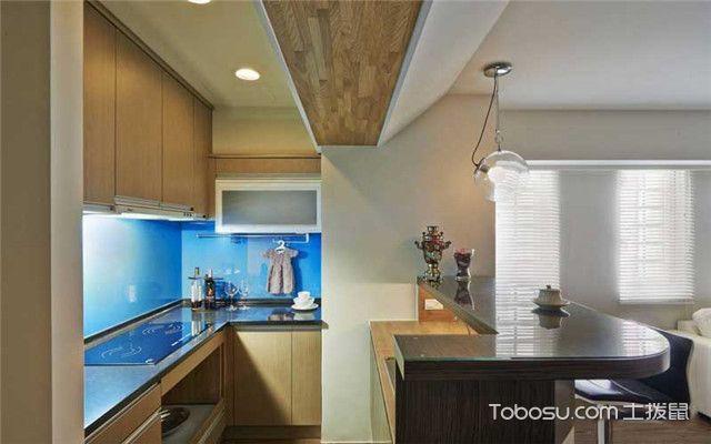 85平现代简约风家装案例之厨房