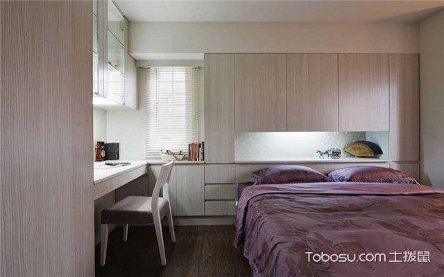 85平现代简约风家装案例之卧室