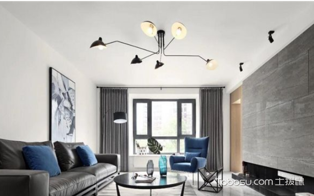北欧式风格客厅装修案例 方法