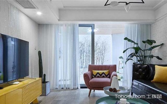 北欧式风格客厅装修案例 赏析