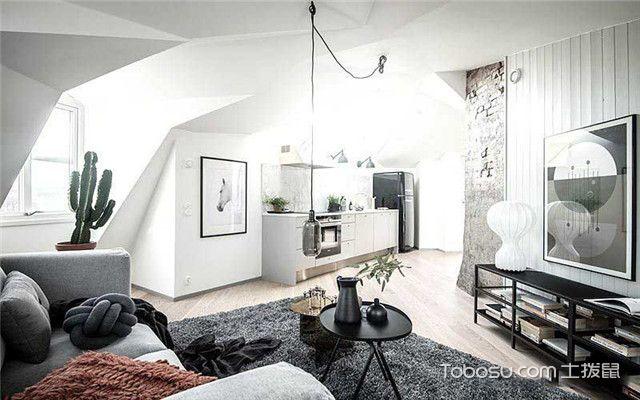 90平北欧风公寓装修设计