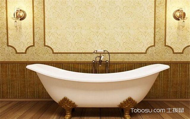浴缸的种类-有裙边浴缸