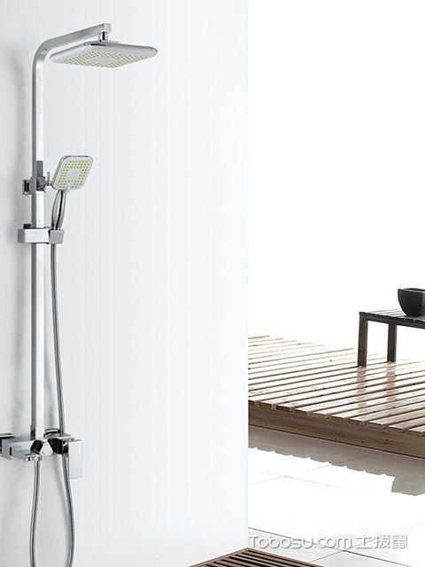 卫生间淋浴花洒不出水怎么办之更换淋浴花洒喷头