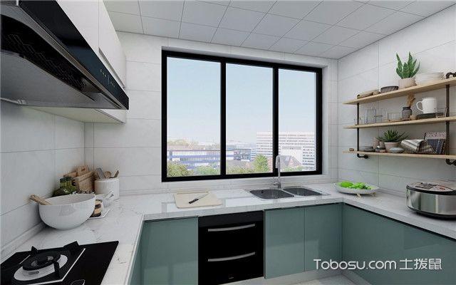 112平北欧风格三居室装修案例之厨房