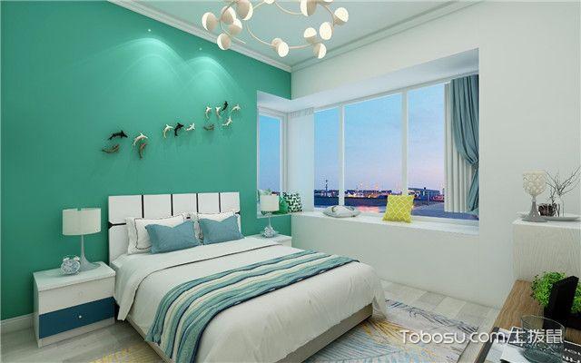 112平北欧风格三居室装修案例之卧室