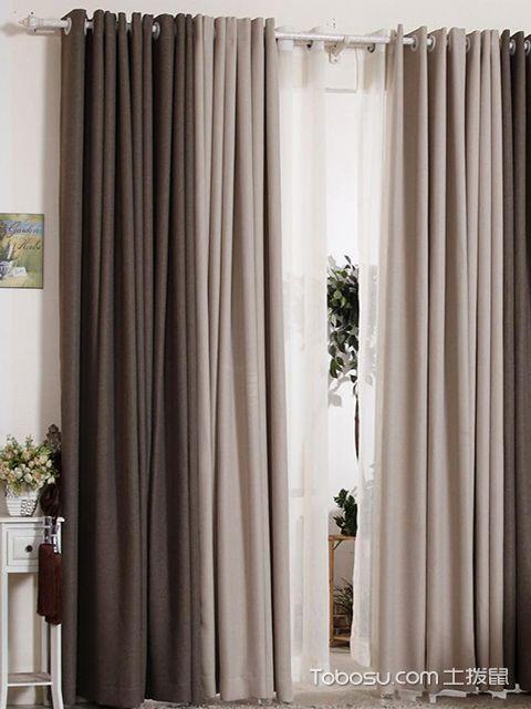 飘窗窗帘什么材质好之棉麻材质窗帘