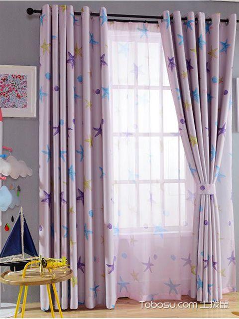 飘窗窗帘什么材质好之涤纶材质窗帘